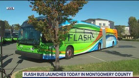 Flash bus service launches in Montgomery County