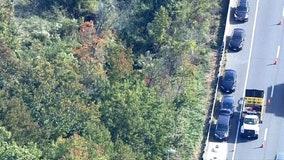 Fairfax County police investigating bones found off I-495