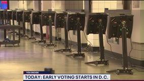 Early voting begins in DC
