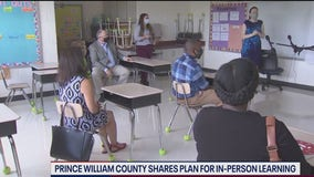 Prince William County shares plans for return to in-person learning