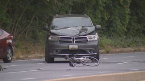 Bicyclist dead after being struck by unmarked DC police SUV