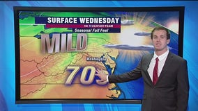 Sunshine, dry skies Wednesday with highs in the 70s