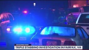 Three men stabbed, another beaten with baseball bat in Fairfax County