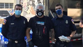 Guy Fieri feeds thousands of first-responders battling California wildfires