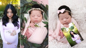Newborn of pregnant woman killed by DUI driver brings awareness to drunk driving in photoshoot