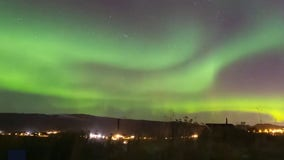 Northern lights dance across Norwegian sky in stunning timelapse video