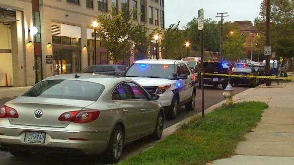 Police officer shot in Alexandria during foot pursuit, authorities say