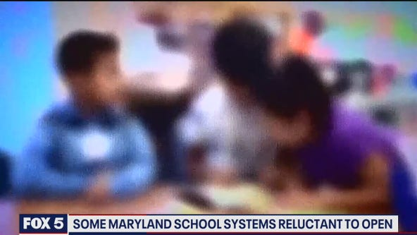 Some Maryland school systems reluctant to open