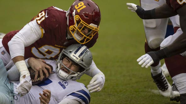 Washington defense clamps down to beat Cowboys