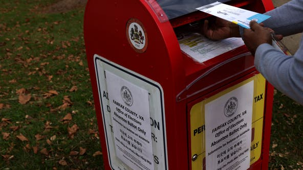 Deadline to request absentee ballots for presidential election in Virginia is Friday