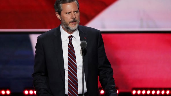 Falwell Jr. sues Liberty University, saying school damaged his reputation