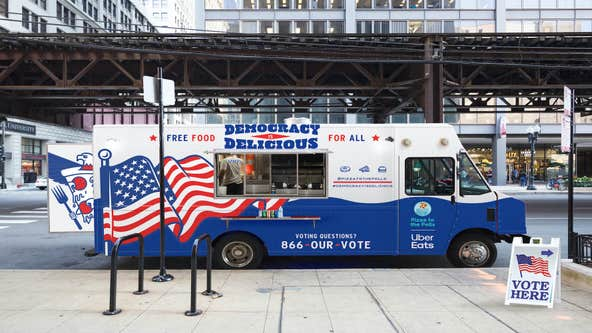 Pizza to the Polls sends free treats to voters waiting in long polling lines