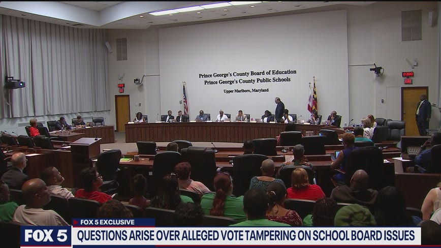 Questions arise over alleged vote tampering on Prince George's County school board issues