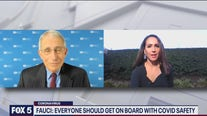 Dr. Fauci says everyone should get on board with COVID safety