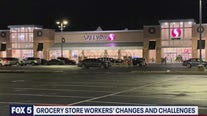 Grocery store workers' changes and challenges
