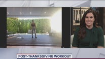 Post-Thanksgiving workout