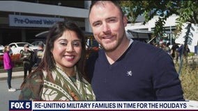 Local nonprofit helps reunite military families in time for the holidays