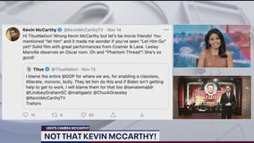 FOX 5's Kevin McCarthy responds to tweets meant for House Minority Leader