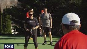 Veterans adaptive tennis