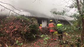 Prince George's County firefighters find 1 resident dead after Laurel blaze