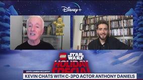 C-3PO actor Anthony Daniels talks Lego Star Wars Holiday Special
