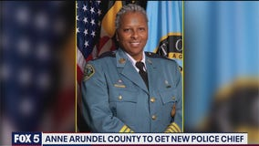 New Anne Arundel County chief makes history