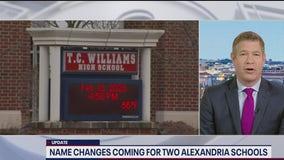 2 Alexandria school names changed