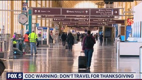 CDC issues warning about Thanksgiving travel