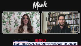FOX 5's Kevin McCarthy talks to Mank co-star Lily Collins