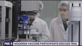 Coronavirus vaccine test participants talk about the experience