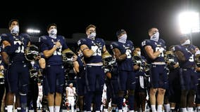 Coronavirus cases prompt Navy and Tulsa to postpone football game