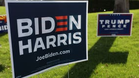Police investigating reports of razor blades on political signs in Arlington