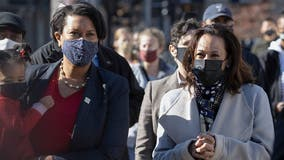 Vice President Elect Kamala Harris joins DC Mayor Muriel Bowser for Small Business Saturday shopping