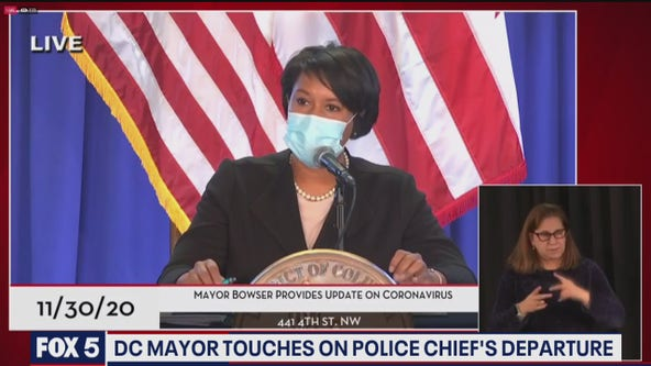 Mayor Bowser finally speaks on D.C. police chief's departure