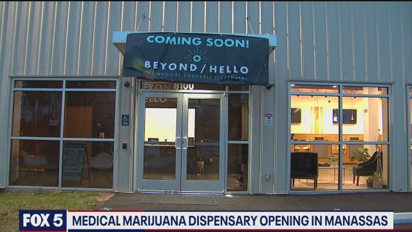Medical marijuana dispensary opening in Manassas next week