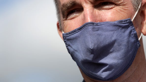 Virginia Governor Northam says state in the midst of reviewing new CDC mask guidelines