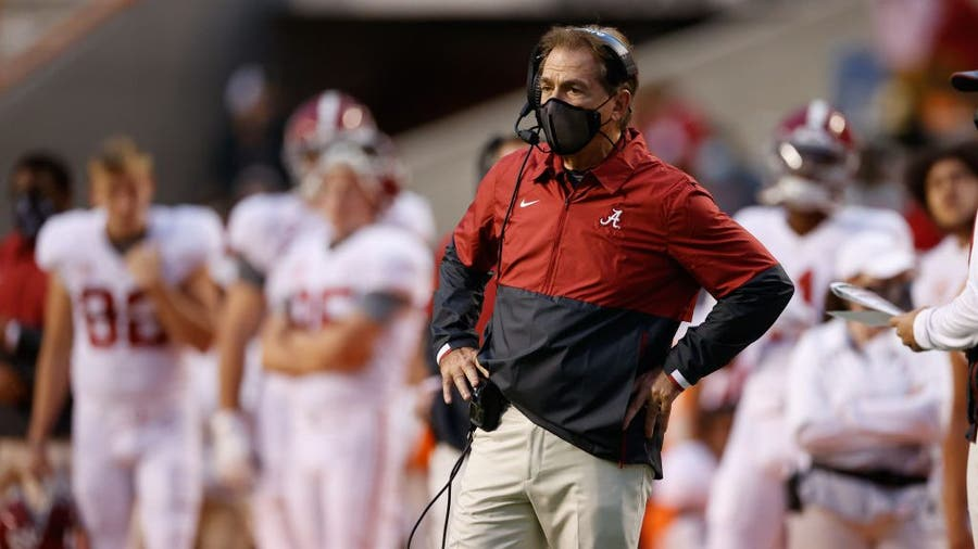 Days before the Iron Bowl, Alabama coach Nick Saban tests positive for COVID-19