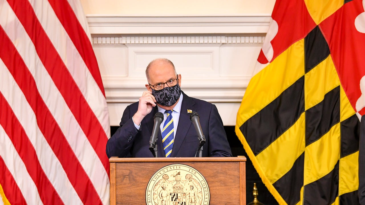 Maryland Governor Larry Hogan declares Christmas Eve a...