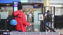 Concern rising over increased travel, COVID impact