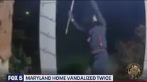 Maryland home vandalized twice