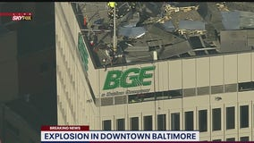 Multiple injuries after Baltimore explosion