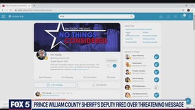 Prince William County sheriff's deputy firing puts Parler in local headlines