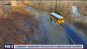 Community searching for solution to Brooke Road flooding in Stafford