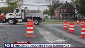 Frederick County in Maryland declares snow emergency