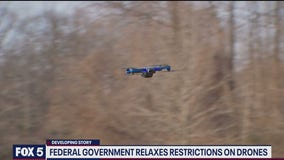 Federal government relaxes restrictions on drones