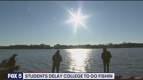Gone fishin: Students using gap year to fish around the country make stop in DC