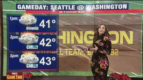 Washington's game time forecast against Seattle