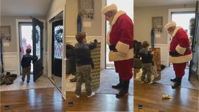 Mall Santa brings Nerf gun to boy who cried after being told 'no guns' for Christmas