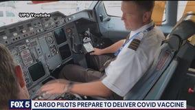 Cargo pilots preparing to deliver coronavirus vaccine