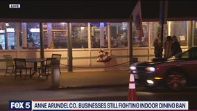Anne Arundel County restaurants challenging indoor dining ban